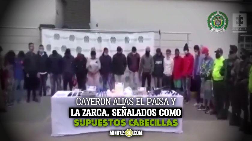 DESARTICULADA RED DELINCUENCIAL LOS DEL RINCON