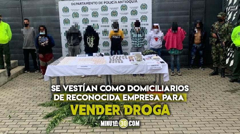 En La Ceja y Abejorral cogieron a 9 integrantes de El Mesa de Bello que se fueron a delinquir a estos municipios