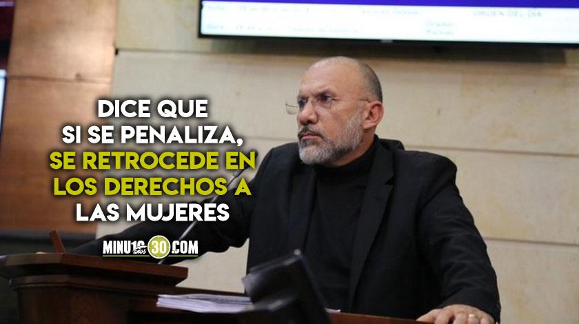 Es una tragedia pero no se puede penalizar Roy Barreras sobre penalizacion del aborto