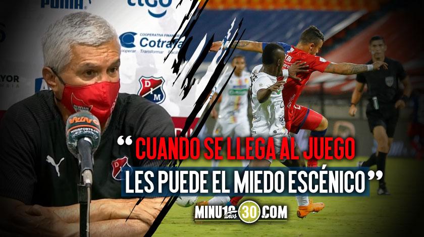 Humberto Sierra analizo lo sucedido en la derrota ante Pereira