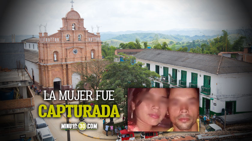 Mujer asesino a su pareja a punaladas en Antioquia