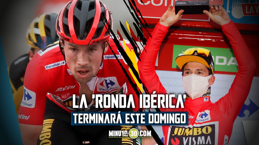 Primoz Roglic virtual campeon de la Vuelta a Espana