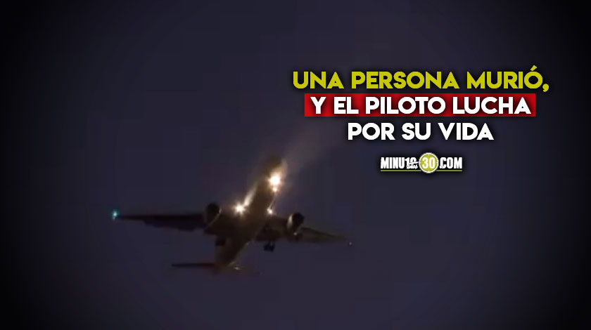 Que tragedia Avion cargado de ayuda humanitaria para damnificados por ETA se accidento
