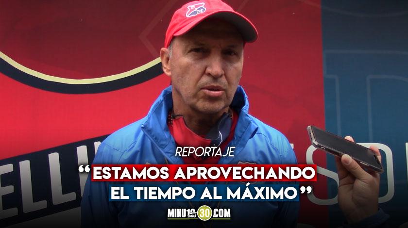 Queremos seguir mejorando nuestro nivel Javier Alvarez