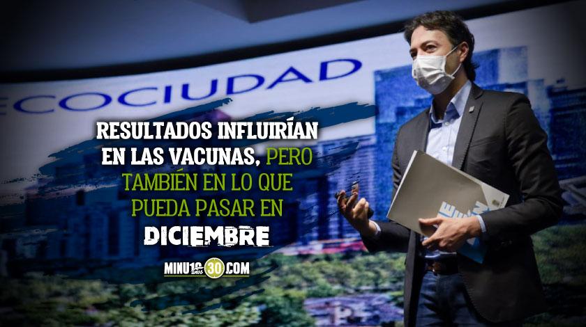 Quintero revelo el porcentaje de personas que han contraido covid en Medellin tras estudio de seroprevalencia