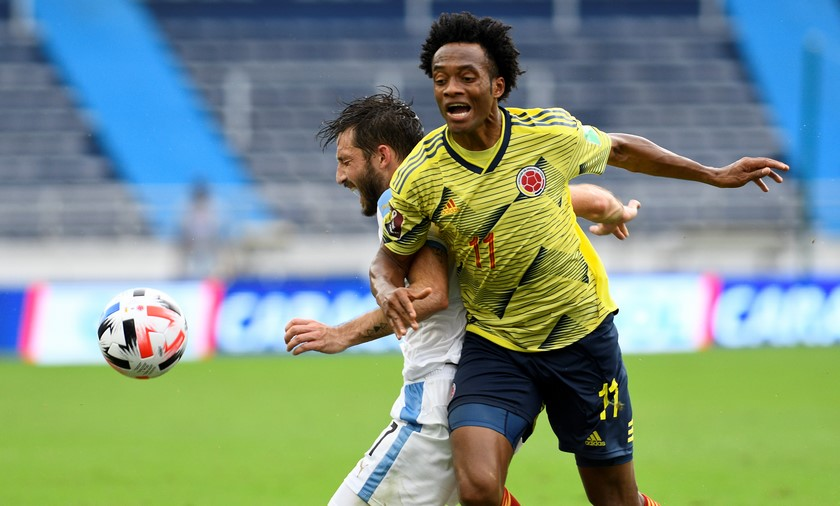 Seleccion Colombia vs Uruguay 10
