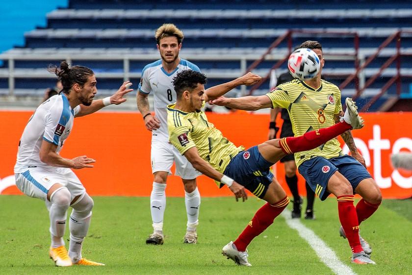 Seleccion Colombia vs Uruguay 8