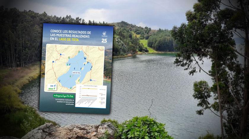 Parte de tranquilidad: No encontraron plomo en el agua del Lago de Tota