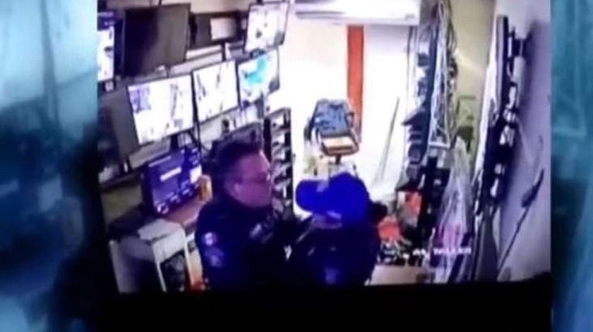 policias sexo trabajo
