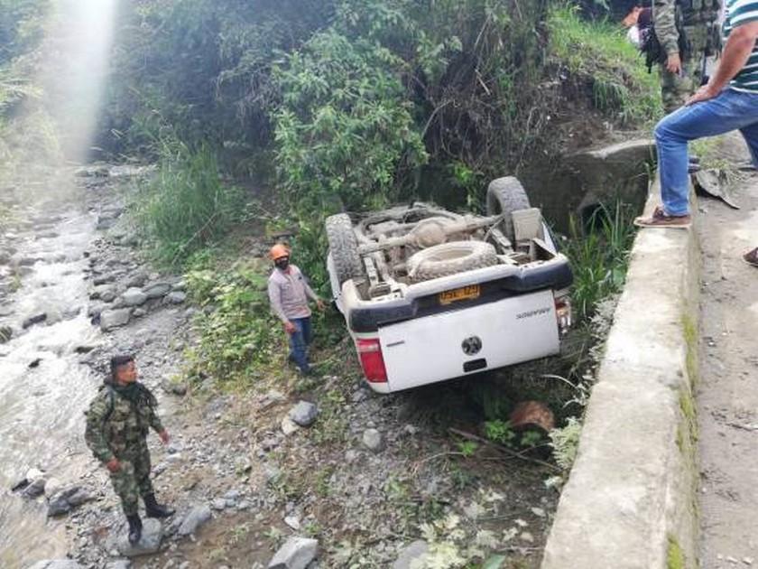 soldados heridos accidente