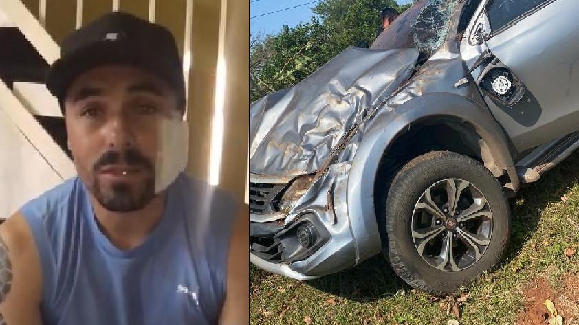 Accidente Vladimir Marín
