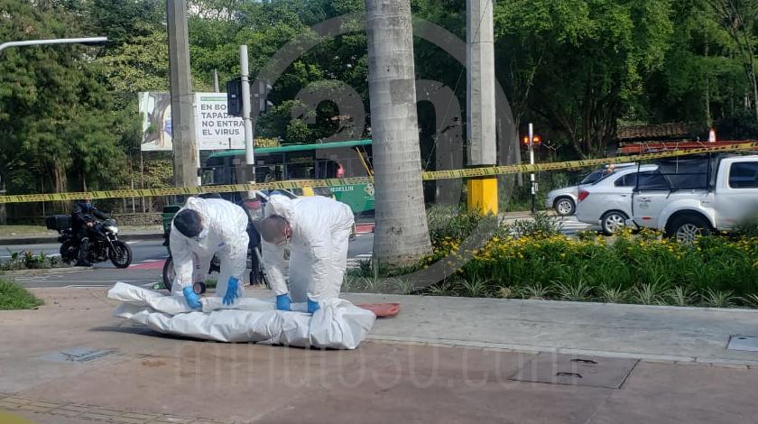 MUJER MUERTA HALLADA EN INMEDIACIONES DE LA UDEA 3
