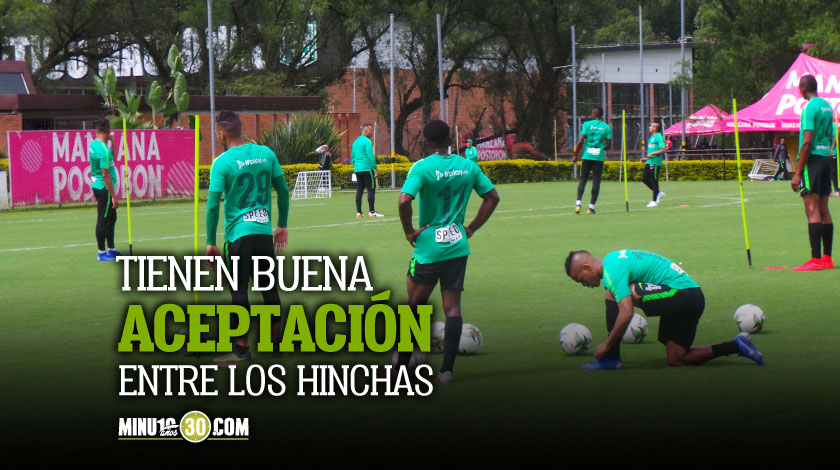Tres jugadores regresaran a Nacional a pelear un cupo en el equipo