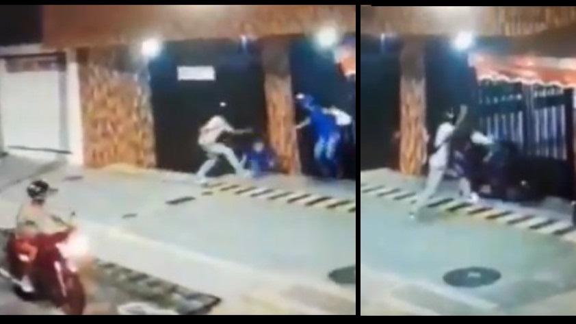 ladrones mujeres golpeadas