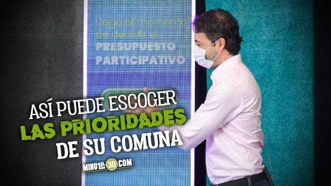 A votar Ya se habilitaron las urnas virtuales para decidir en que invertir el Presupuesto Participativo de Medellin