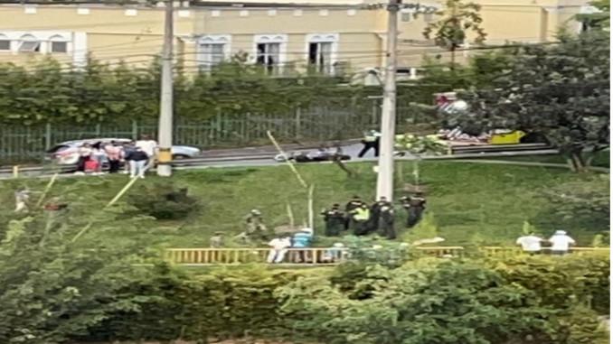 Accidente en el Poblado, una persona falleció
