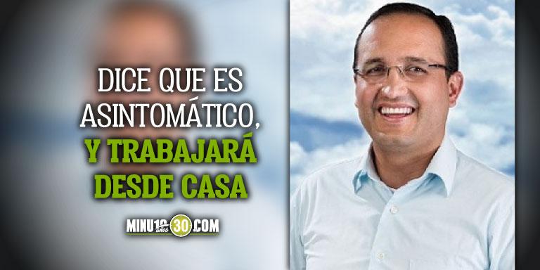 Alcalde del Carmen de Viboral otro mandatario que se contagia de covid 19 en Antioquia