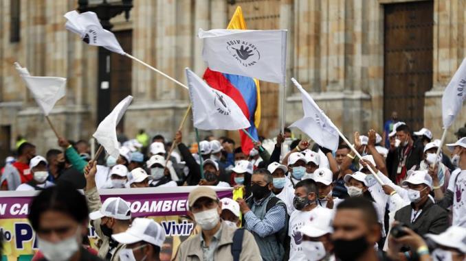 Desmovilizados de las FARC