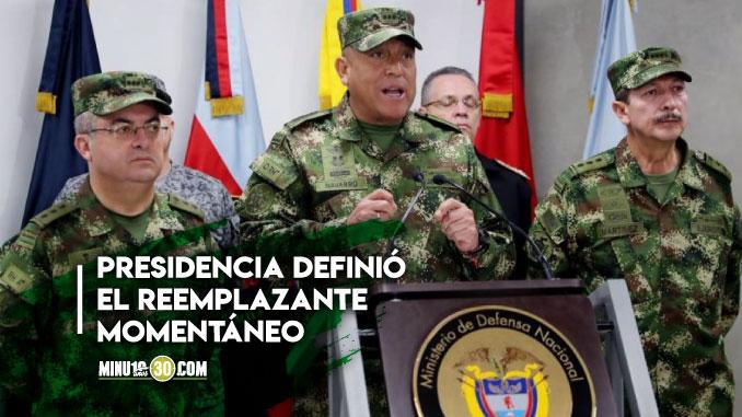 Hasta que Holmes no se recupere del covid 19 Colombia tendra otro ministro de Defensa