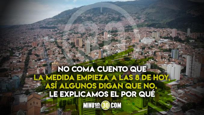 No queda ninguna duda Este es el decreto con el que queda definido el toque de queda continuo en Medellin