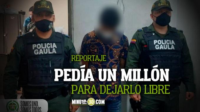 Policia capturo a un hombre que tenia secuestrado a un repartidor de gas y el vehiculo en el Tricentenario