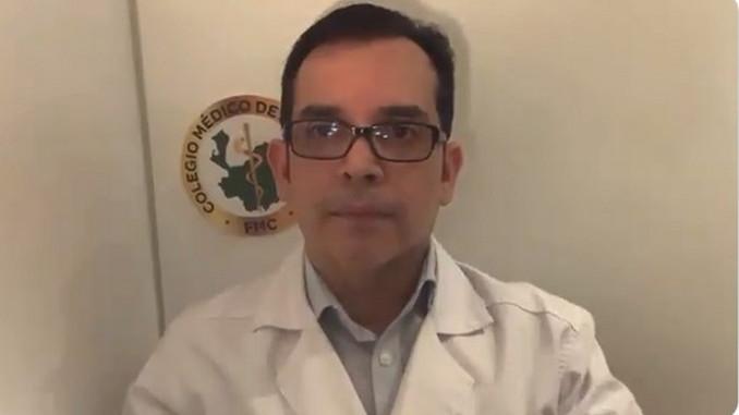 Presidente del Colegio Médico de Medellín invita a que nos cuidemos