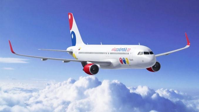 avion viva colombia