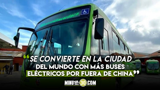 Buses eléctricos en Bogotá