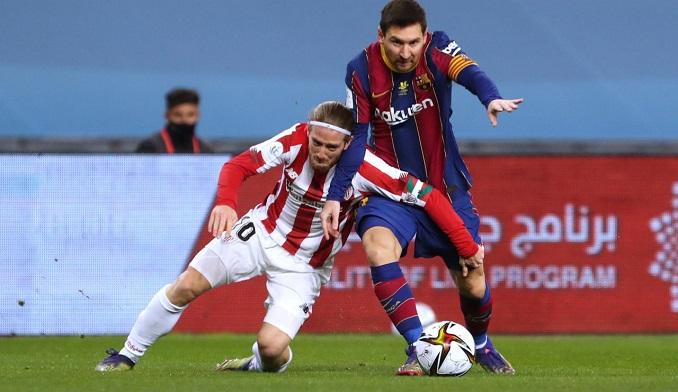 La primera expulsión de Messi con el Barcelona y otros puntos débiles que mostró en la Supercopa