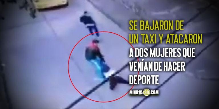 Mujer fue arrastrada en Bogotá