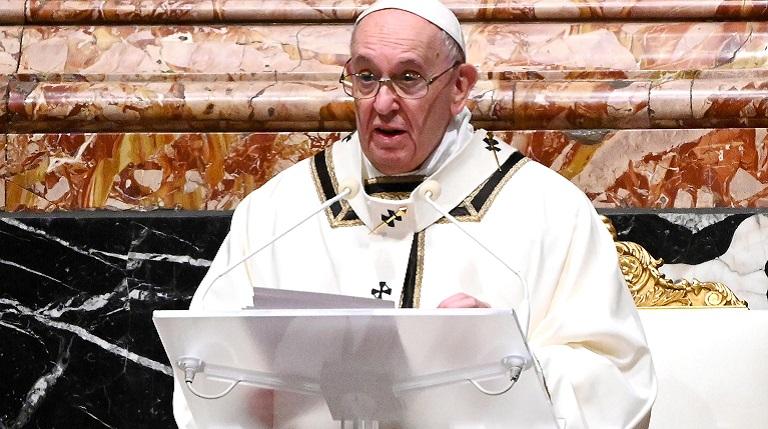 El papa insta a promover las condiciones para un mundo sin armas nucleares