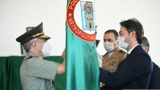 El Brigadier General Pablo Ferney Ruíz asume el mando de la Policía Metropolitana de Medellín