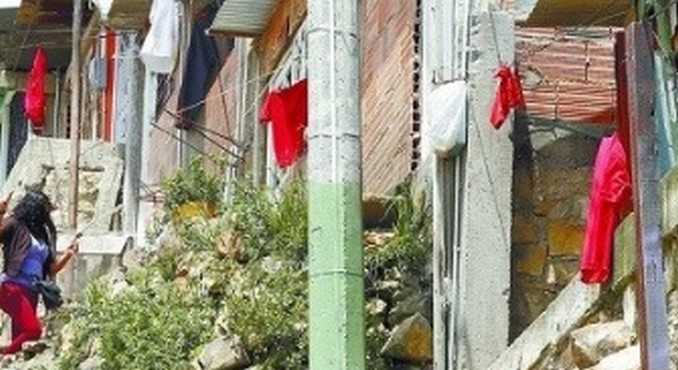 Trapos rojos en Bogotá