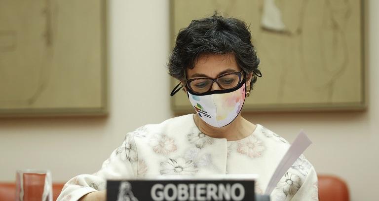 Arancha González Laya, la ministra española visitará a inmigrantes venezolanos en Colombia