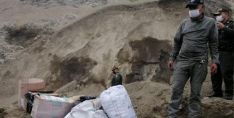 Destruyeron 200 kilos de pólvora en Manizales