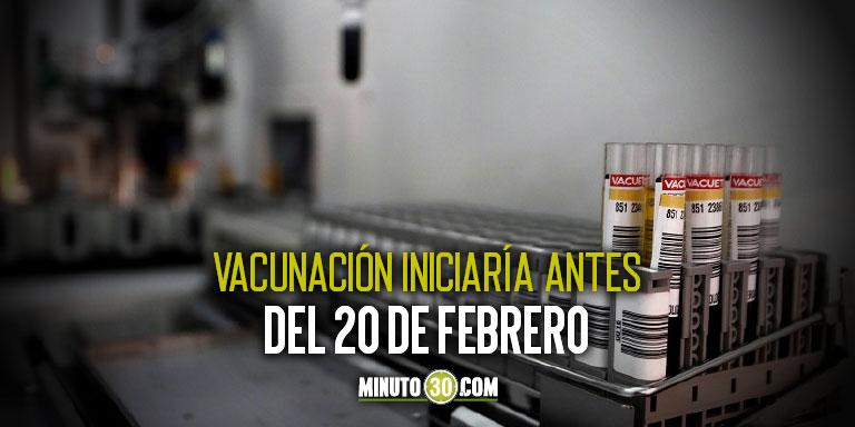 No es solo la dosis Todo lo que tendra que distribuir el gobierno esta semana para iniciar vacunacion