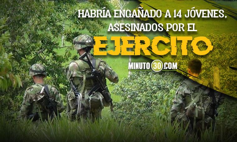 Reactivan proceso de extradicion contra El Zarco quien reclutaria jovenes para volverlos falsos positivos