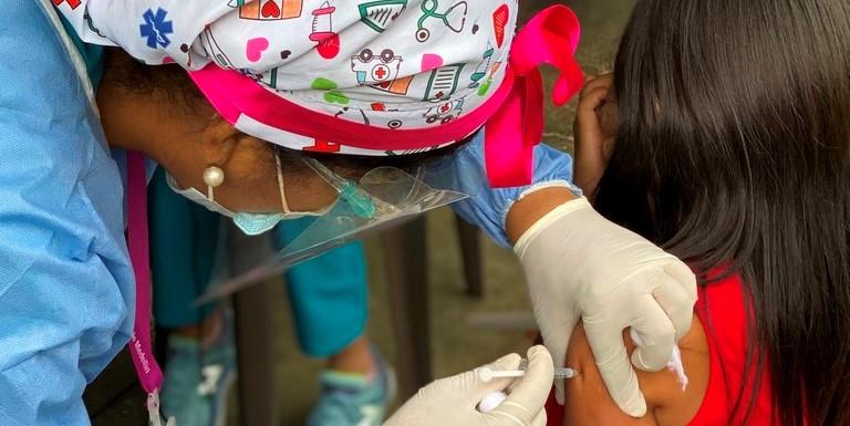 Vacunas aplicadas en Medellín