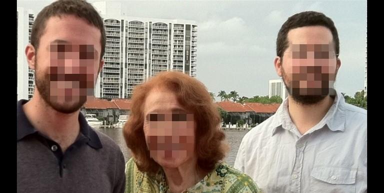Anciana denuncia a nietos