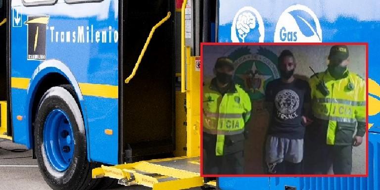 Sujeto capturado por robo en SITP