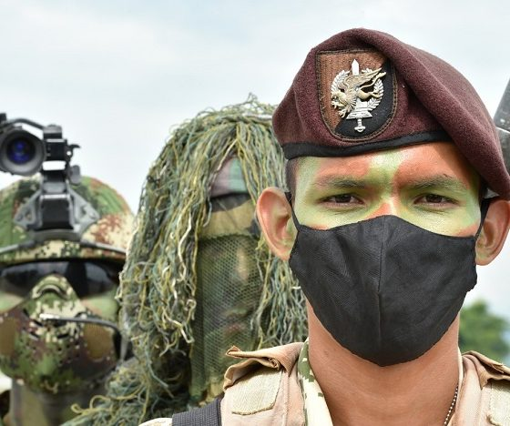 Comando contra el Narcotráfico y las Amenazas Transnacionales del Ejército colombiano.
