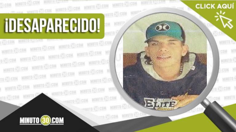 Juan Camilo Cardona Guerrero desaparecido
