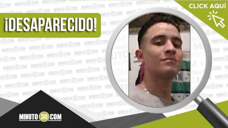 Santiago Diaz Velásquez está desaparecido