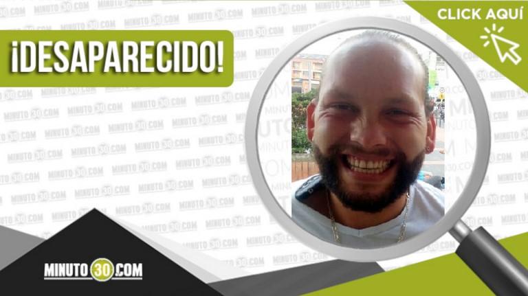 Daniel Eduardo Quintero Muñoz está desaparecido