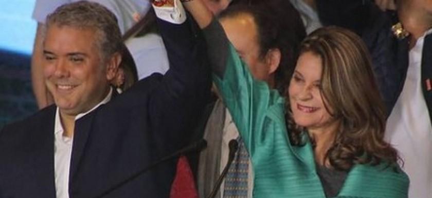 Duque dice que Colombia ya está lista para una mujer presidenta