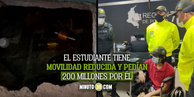 Estudiante secuestrado en Villavicencio logró escapar