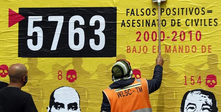 """Justicia de Paz en Colombia eleva a 6.402 las víctimas de """"falsos positivos"""""""