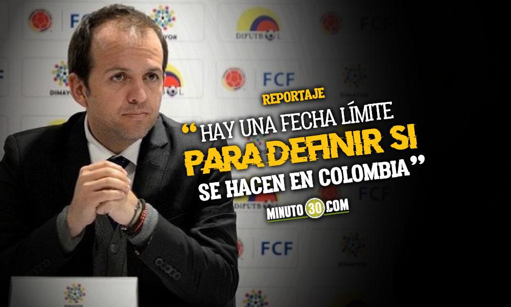La Copa America tenemos que hacerla con publico Ernesto Lucena 2