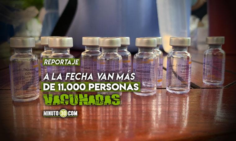 Medellin espera terminar con la etapa 1 de vacunacion siempre y cuando el gobierno entregue las dosis correspondientes