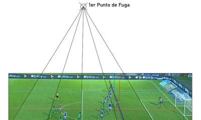 Con AUTOCAD analizan el gol de Vladimir Hernández